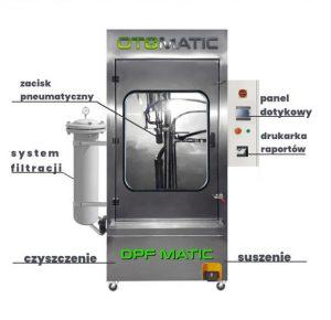 Regeneracja i czyszczenie filtrów DPF  - DPF MATIC